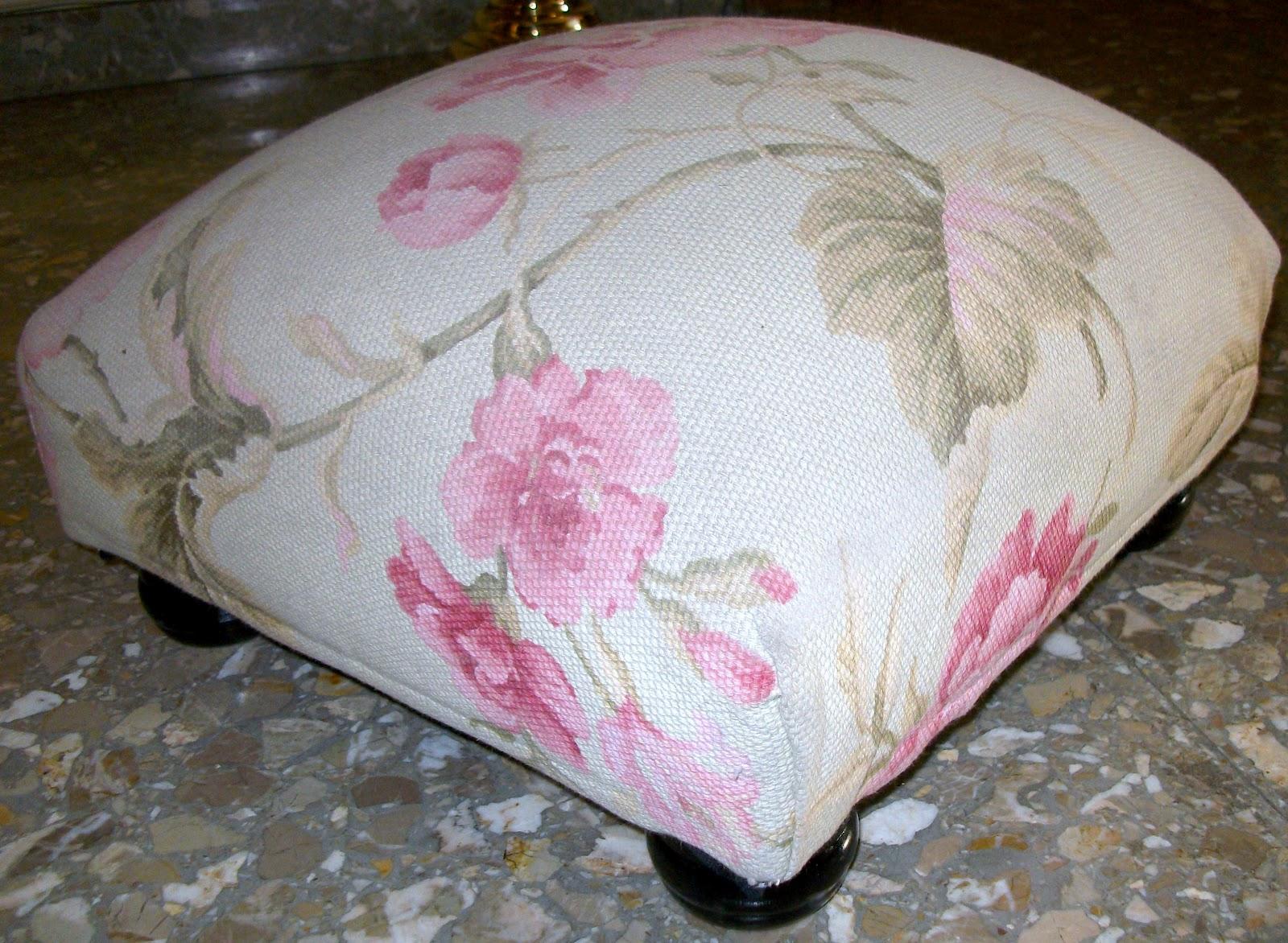 El blog de la restauradora tapizar un escabel ii - Goma espuma para tapizar sillas ...