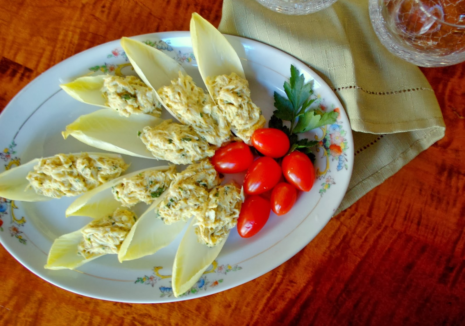 ... salad with endive pomegranate blue crab salad with endive recipe