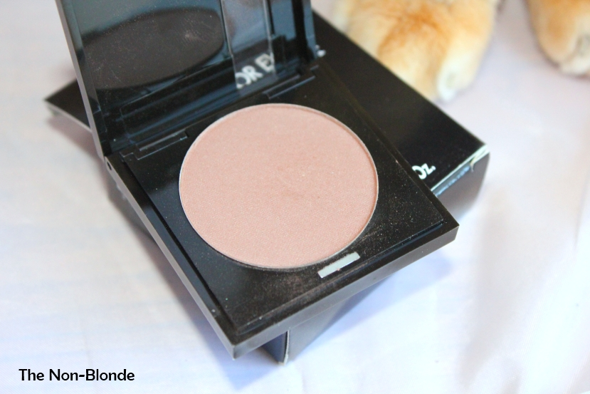 Makeup For Ever Metallic Taupe 127 Eye Shadow The Non Blonde