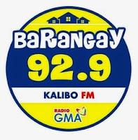 Barangay 92.9 Kalibo logo