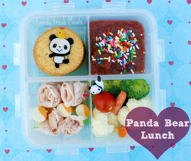 Panda Bear Lunch