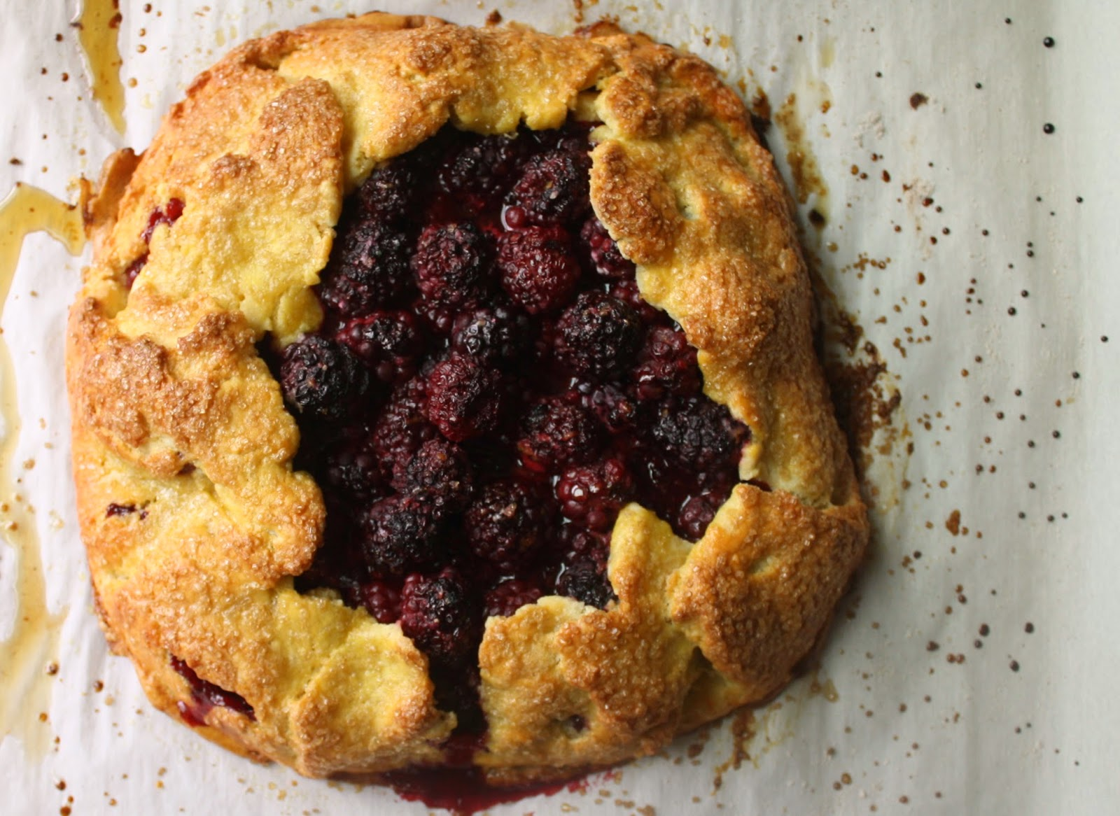 arielle clementine: Blackberry Crostata with Cornmeal Crust (Gluten ...