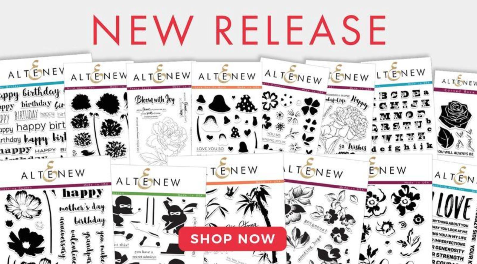 Altenew December 2017 Release