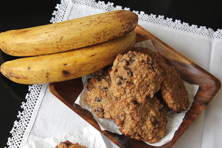 småkager med banan