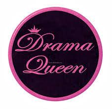drama queen sticker
