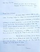 Os dejo el texto de la carta del Papa Francisco dirigida a seis seminaristas . carta del papa francisco