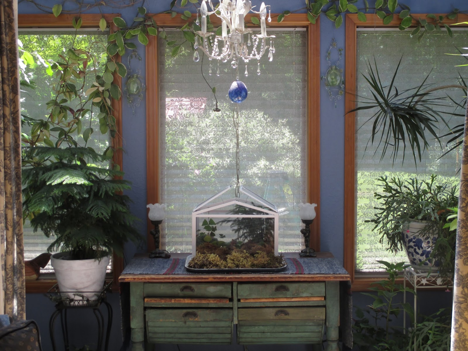 From Cedar Pond To Laughing Dove Farm Sun Room Jungle