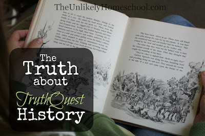 The Truth about TruthQuest History {a favorite homeschooling curriculum from Rainbowresource.com