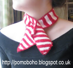 Free 1950's Crochet - Roman Holiday Neckerchief