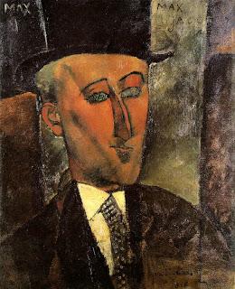 Max Jacob par Modigliani