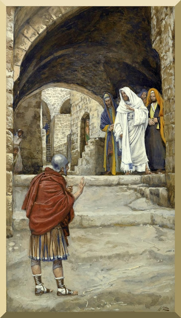 """Lord, I Am Not Worthy"" -- by James Tissot"