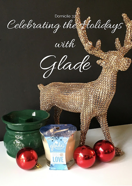 Festive Tablescape, Cookie Recipe, Holiday Craft Tutorial inspired by Glade