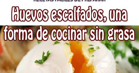 Huevos escalfados una forma de cocinar sin grasa - Cocinar sin grasa ...