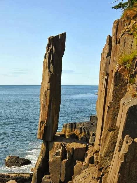 Balancing Rock, Digby, Nova Scotia, Canada