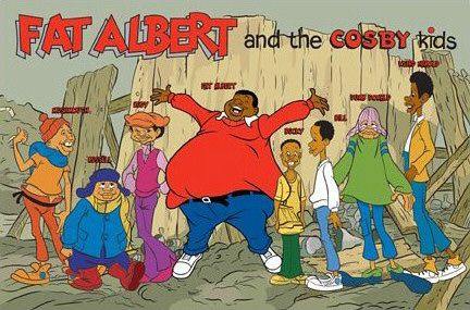 Black Cartoon Stars: Fat Albert - 45.6KB