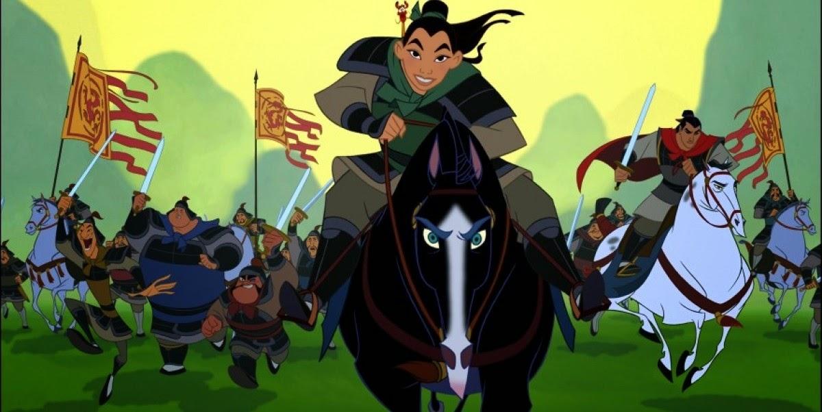 Disney está desenvolvendo remake live-action da animação Mulan
