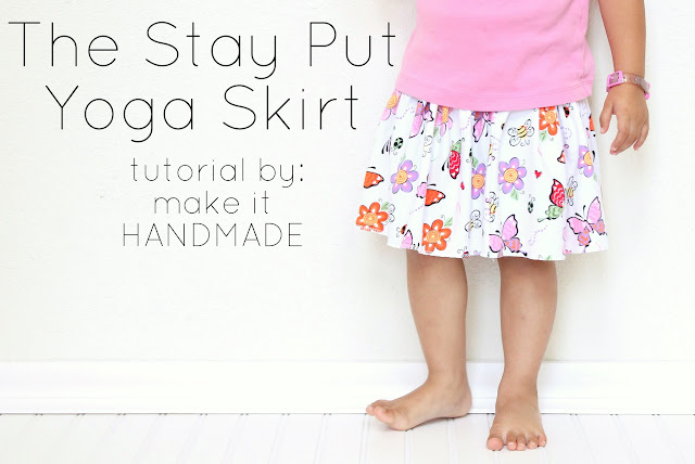 A Stay Put Yoga Skirt Tutorial By Make It Handmade