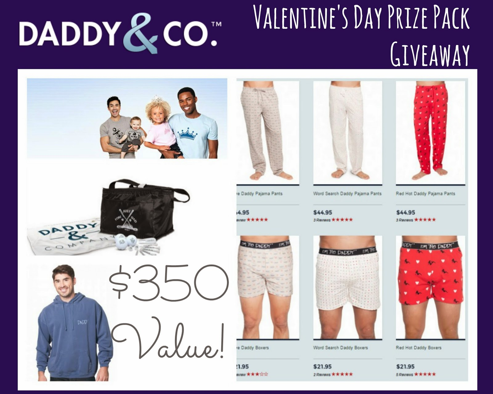 Daddy & Company Giveaway