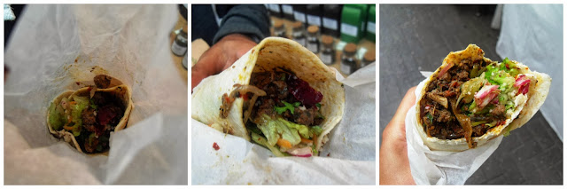 Lamb Wrap from Sultans Delight, Greenwich