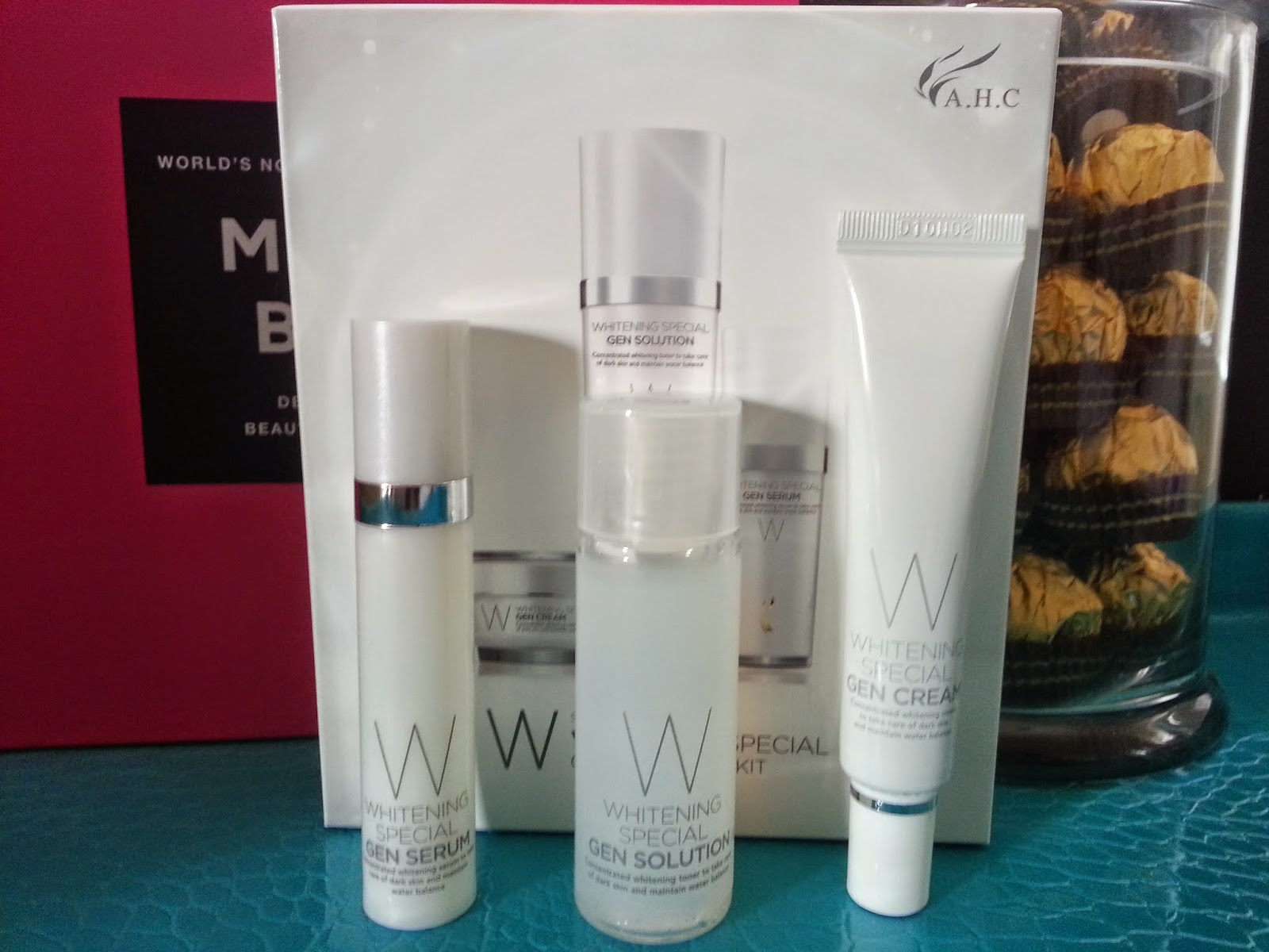 A.H.C Whitening Special Gen Skin Care Kit