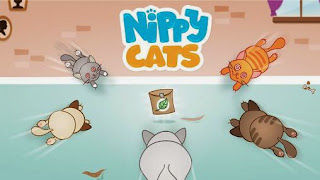 Screenshots of the Nippy cats for Android tablet, phone.
