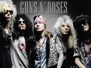 Guns N' Roses Band Members High Definition Wallpaper