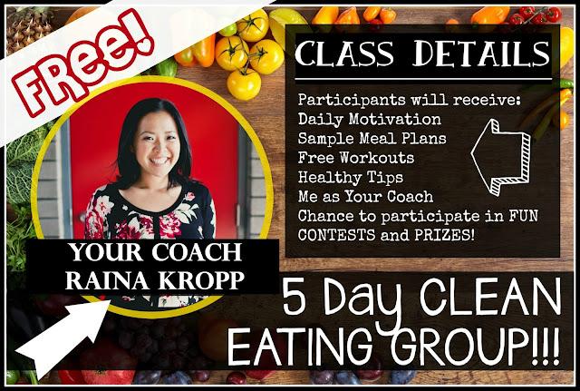 Beachbody Coach Raina Kropp free clean eating group