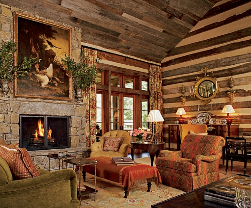 This Fabulous But Incredibly Cozy Living Room Might Fit In Quite Well Into The English Country House Look Suzanne Kasler