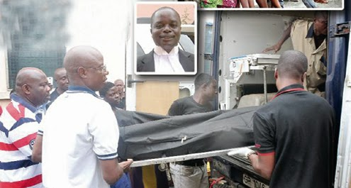 Sad ;44Year old  Lawyer Hangs Self In Office