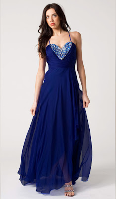 dunkelblaues abendkleid - dunkelblaues kleid