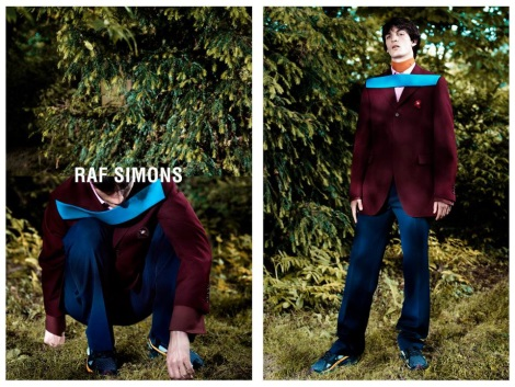 Raf Simons Fall 2013 Campaign by Willy Vanderperre