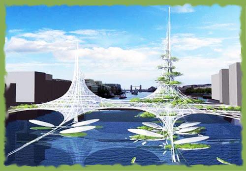 Концепция проекта моста в Лондоне