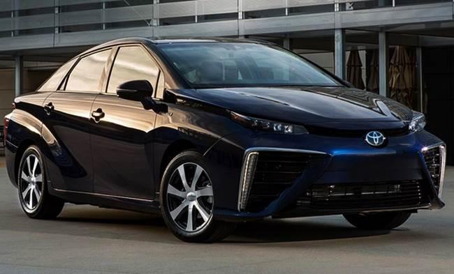 Canada 2016 Toyota Mirai Fuel Cell-hydrogen