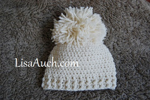 Free Crochet Pattern Baby Pom Pom Hat : FREE Crochet Patterns