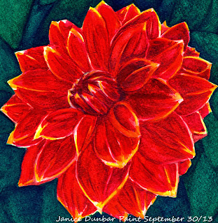 Flower painting artwork