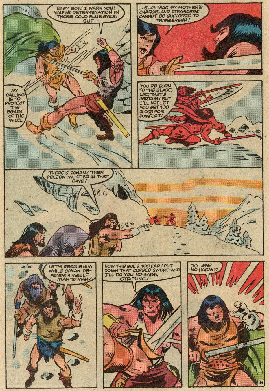 Conan the Barbarian (1970) Issue #145 #157 - English 19