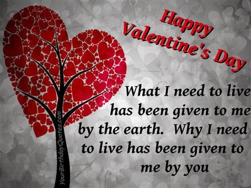 Meaning Happy Valentine's Day Wishes For Friends 2014