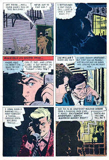 77 Sunset Strip / Four Color Comics #1106 dell tv 1960s silver age comic book page art by Alex Toth