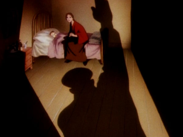 A striking image from Disney's Education for Death.