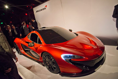 McLaren shows P1 at private event in Beverly Hills, reveals more details