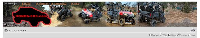 2014 Pioneer 700-4 Forum / Pioneer 700 Forum / Honda SxS / Side by Side / UTV / MUV Forum
