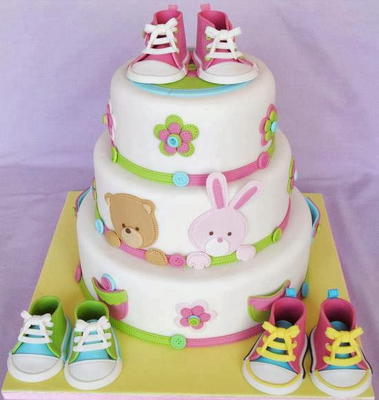 Birthday Cake Teddy Bears