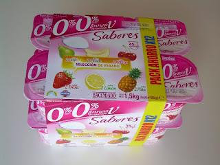 Yogur desnatado sabores LINNEA V - HACENDADO