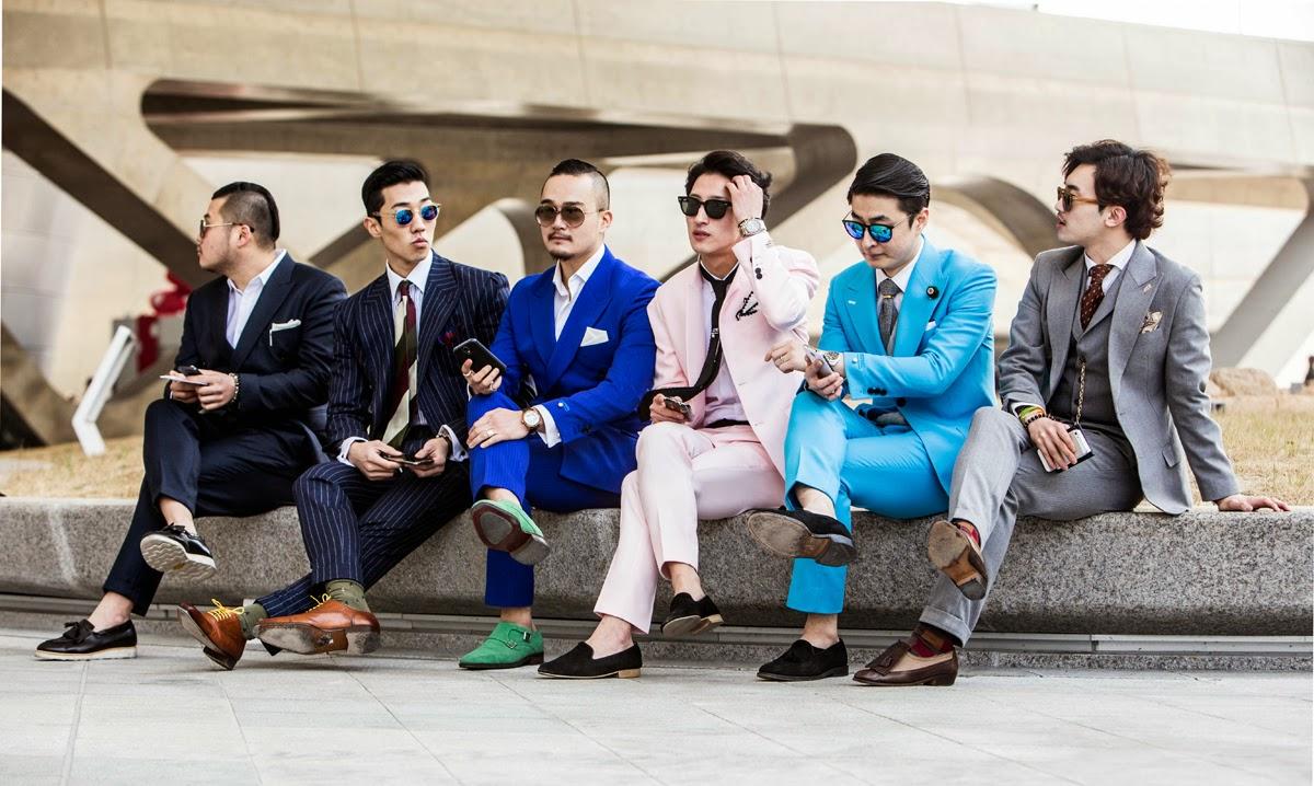 Men's Street Style : Best Classic Suits