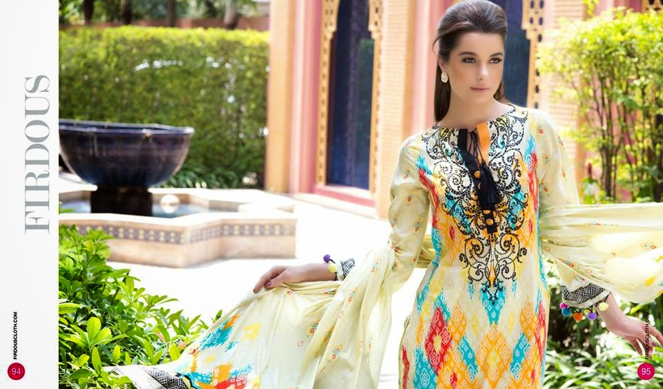 Firdous summer dresses uk