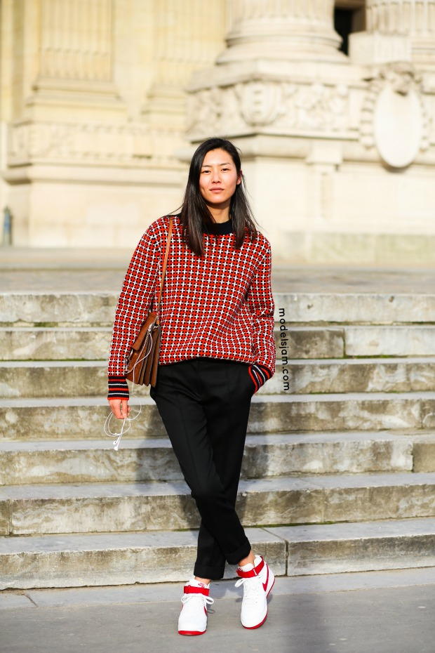 Liu Wen, Paris, March 2015