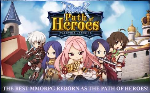 Ragnarok: Path Of Heroes Game mmorpg terbaik terpopuler android