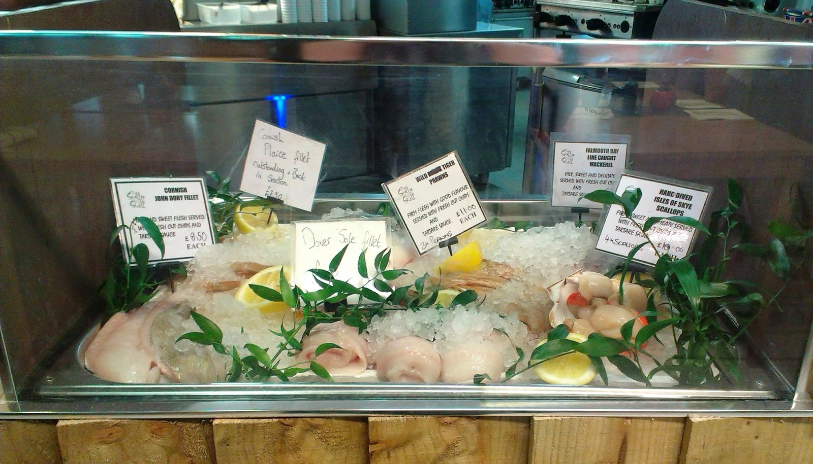 The Scallop Shell Beckington Fresh Fish