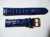 Strap Kulit Blue Only 003- 20mm