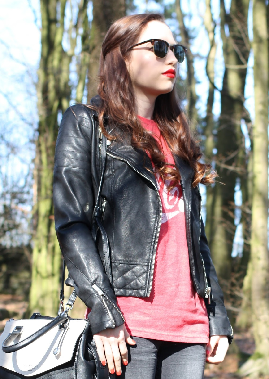 Casual Look Newlook Jeans Miss Selfridge Molly Biker Jacket